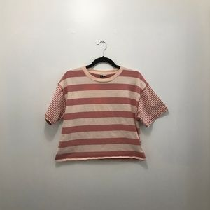 NEW! Pink Striped Tee